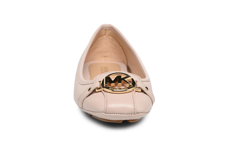 Ballerines Michael Michael Kors Fulton Moc Rose vue portées chaussures