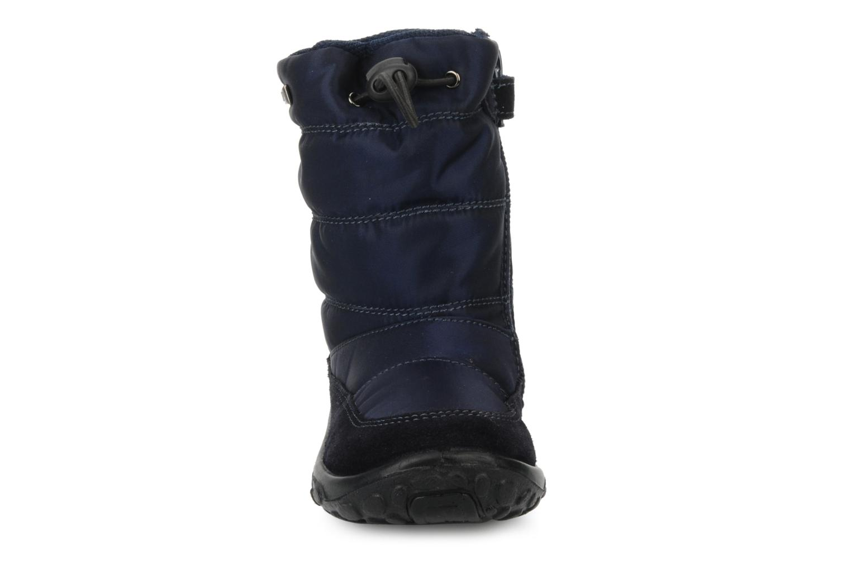 Bottes Naturino Poznurr Bleu vue portées chaussures
