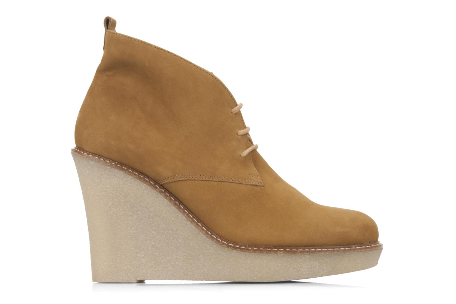 Ankle boots JB MARTIN Louve Brown back view