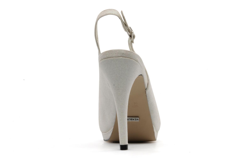 Sandales et nu-pieds Menbur Cindella Blanc vue droite