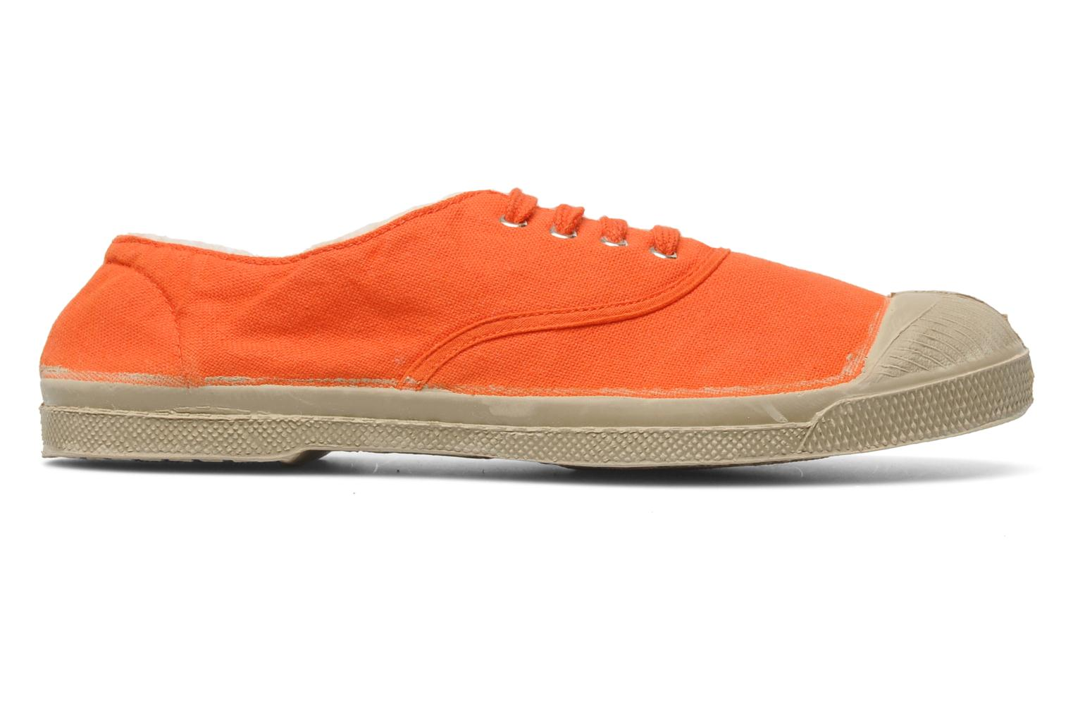 Baskets Bensimon Tennis Fourrees E Orange vue derrière