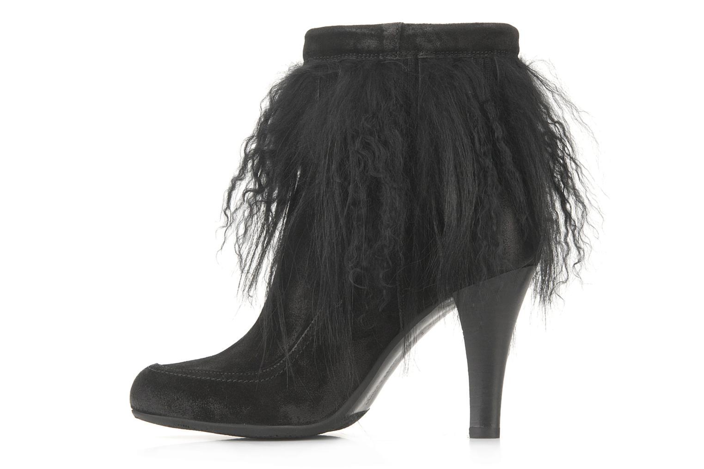 Bottines et boots Janet & Janet Preziosa Noir vue face