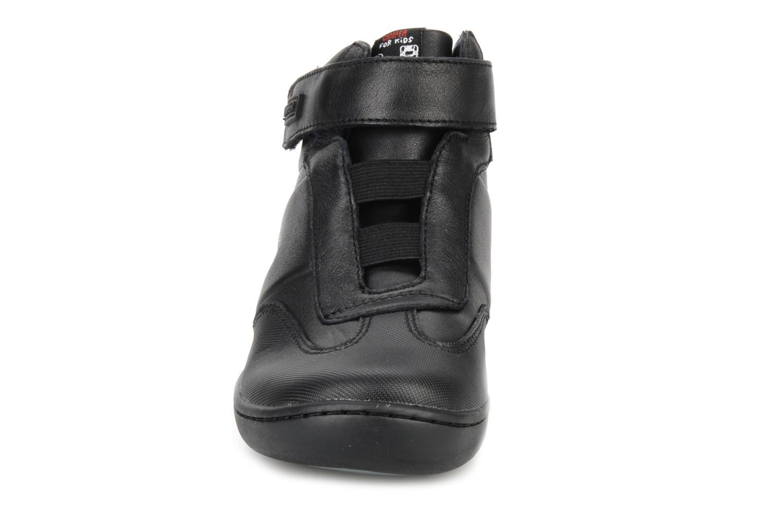 Ankle boots Camper Klick kids 90144 Black model view