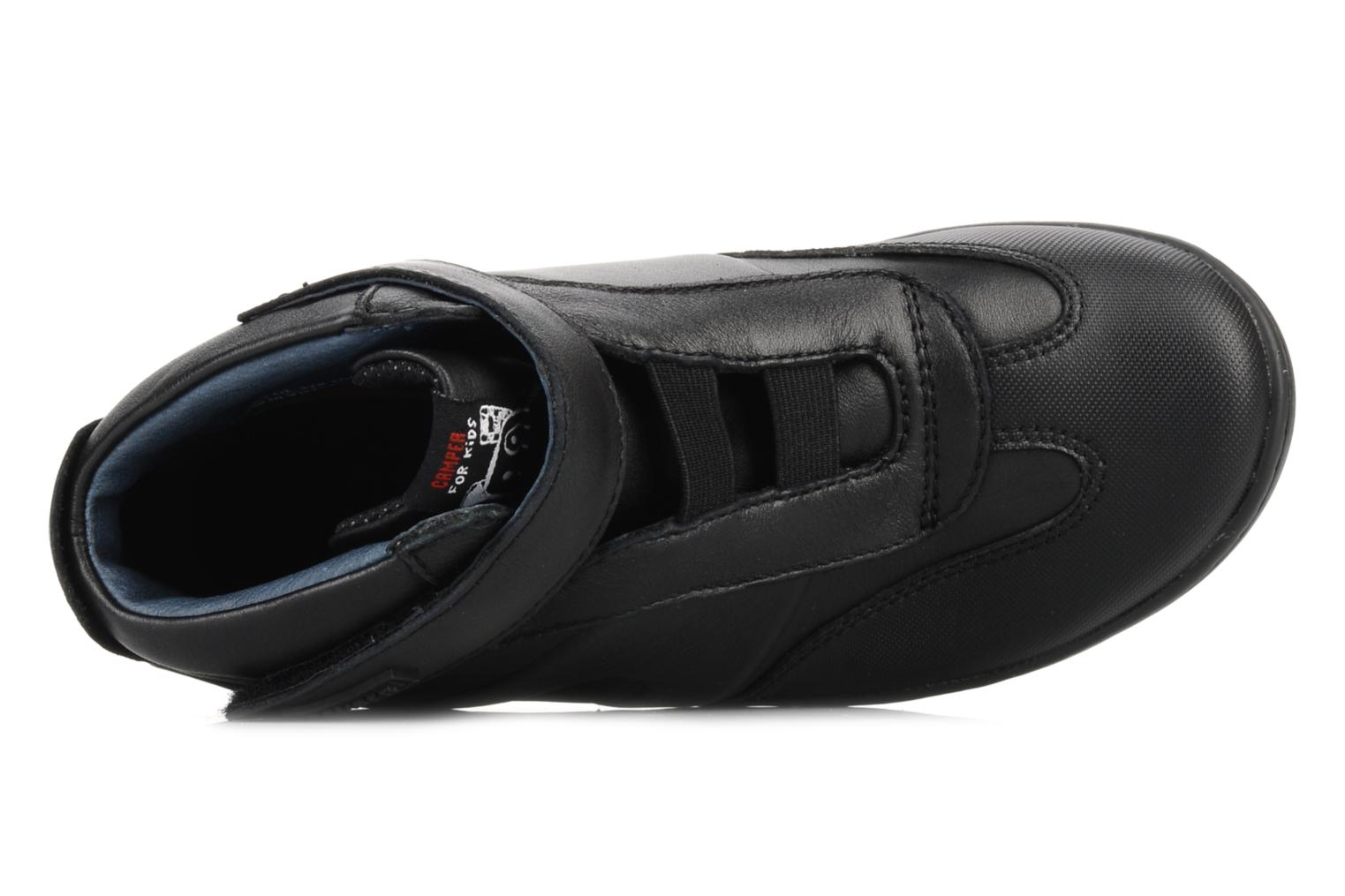 Ankle boots Camper Klick kids 90144 Black view from the left