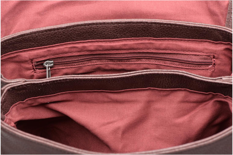Handtaschen Nat & Nin Jen weinrot ansicht von hinten
