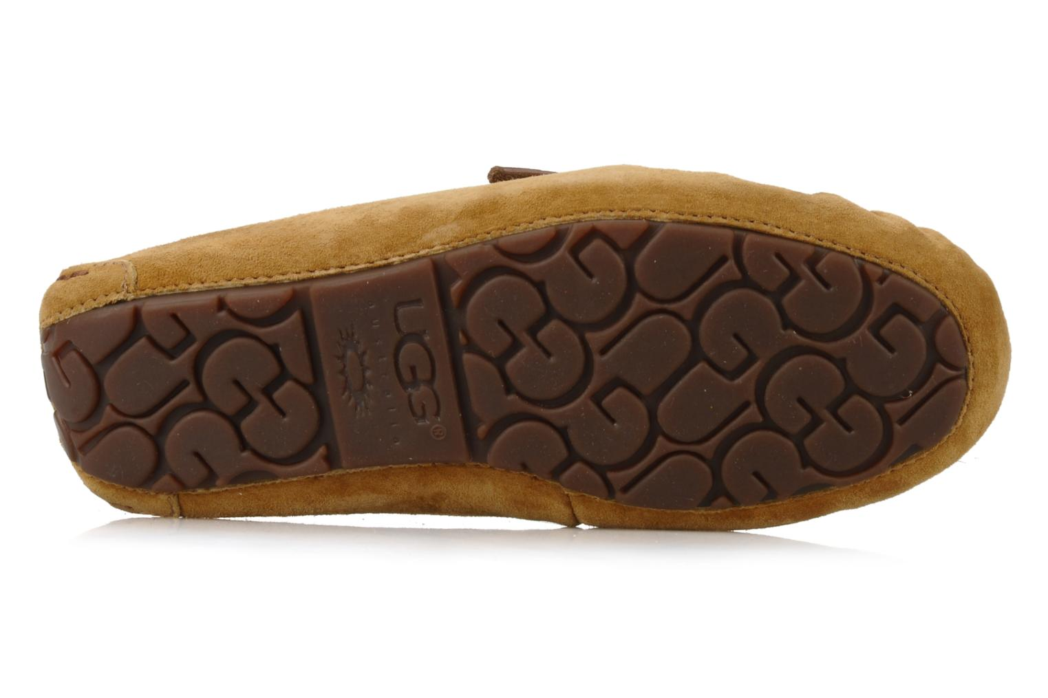 Loafers UGG Dakota Beige view from above
