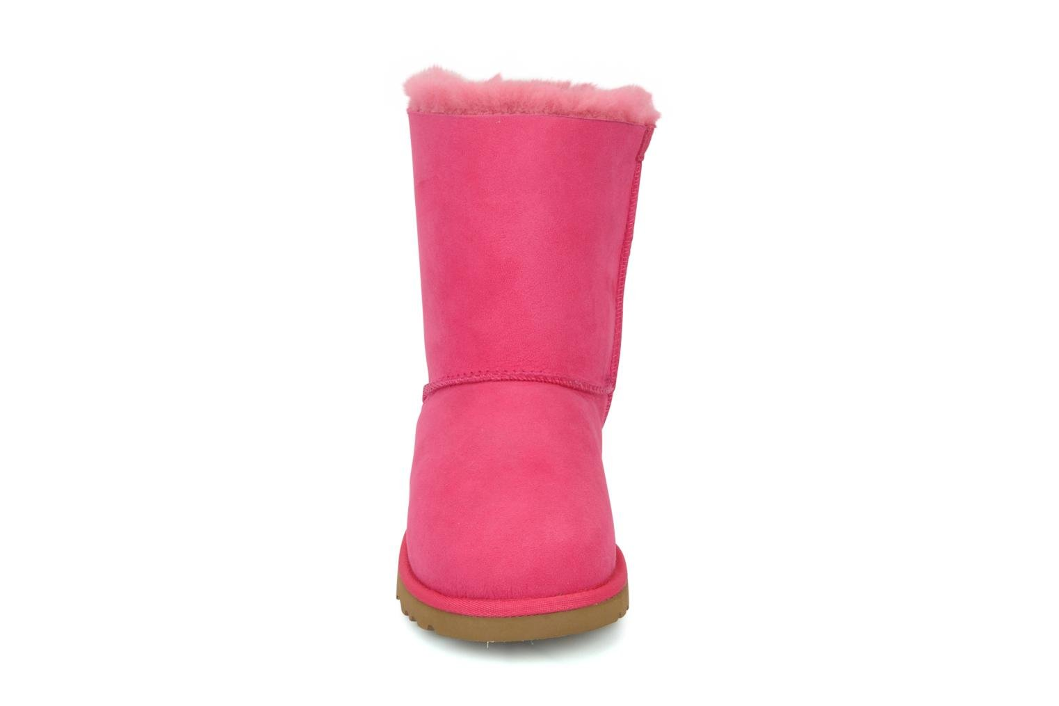 Bottes UGG Bailey bow Rose vue portées chaussures