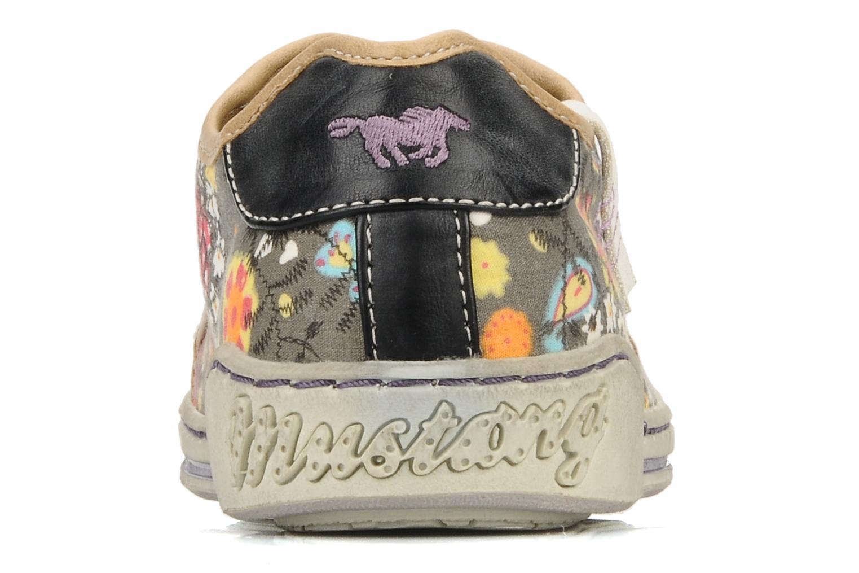 Baskets Mustang shoes Tornada Multicolore vue droite