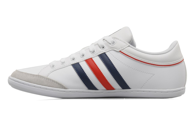 Baskets Adidas Originals Plimcana low Blanc vue face