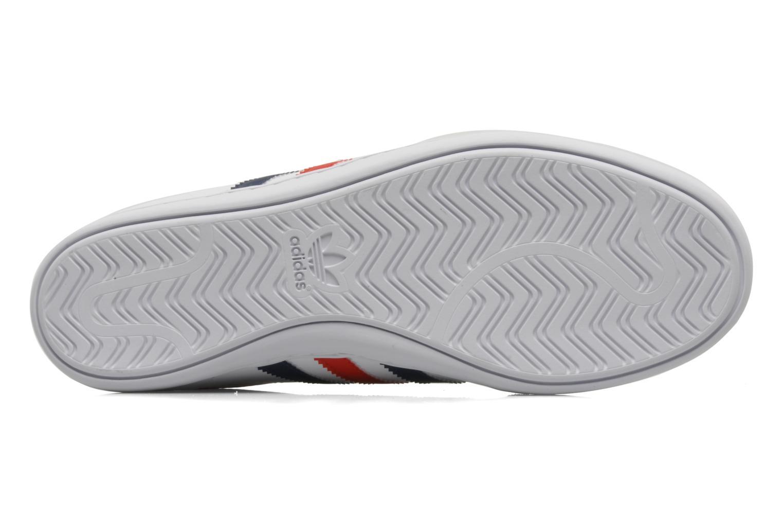 Baskets Adidas Originals Plimcana low Blanc vue haut