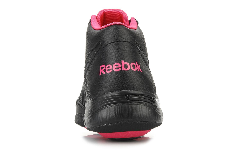 Scarpe sportive Reebok Traintone vibe mid Nero immagine destra