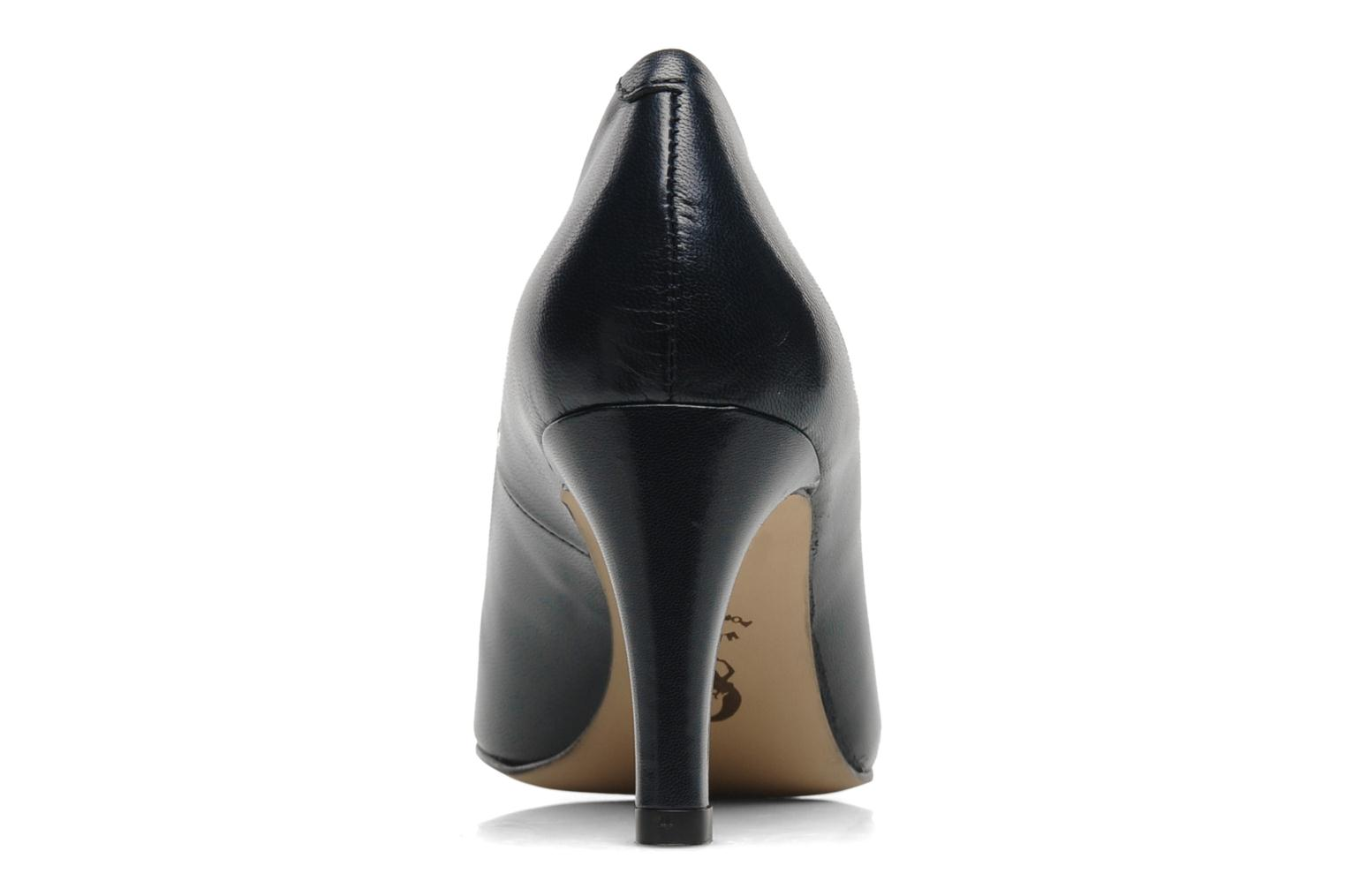 High heels Perlato Cid Blue view from the right