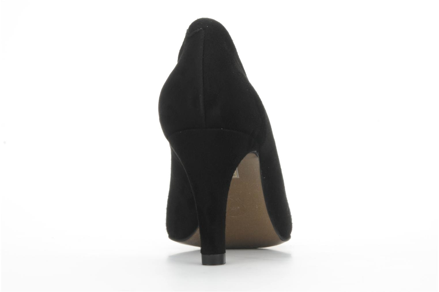 High heels Perlato Cid Black view from the right