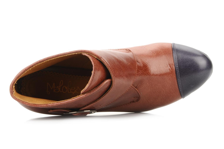 Stiefeletten & Boots Maloles Anette braun ansicht von links