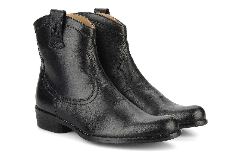 Bottes Pom d Api Nevada star boots Noir vue 3/4