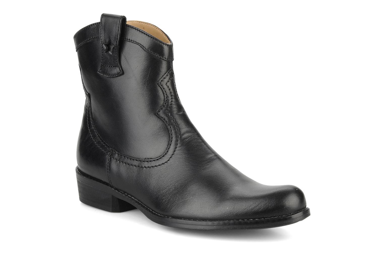 Bottes Pom d Api Nevada star boots Noir vue détail/paire
