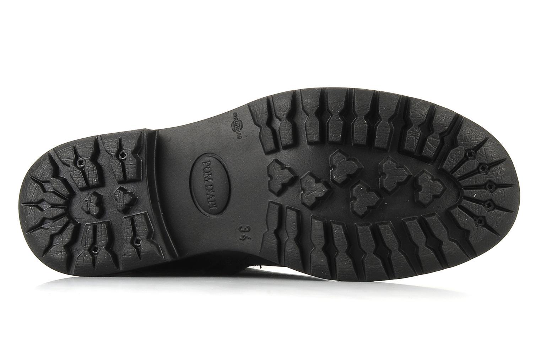 Stiefel Pom d Api Lina zip reverse schwarz ansicht von oben