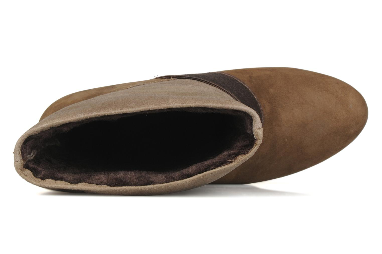 Ankle boots Camper Nancy 46331 Brown view from the left