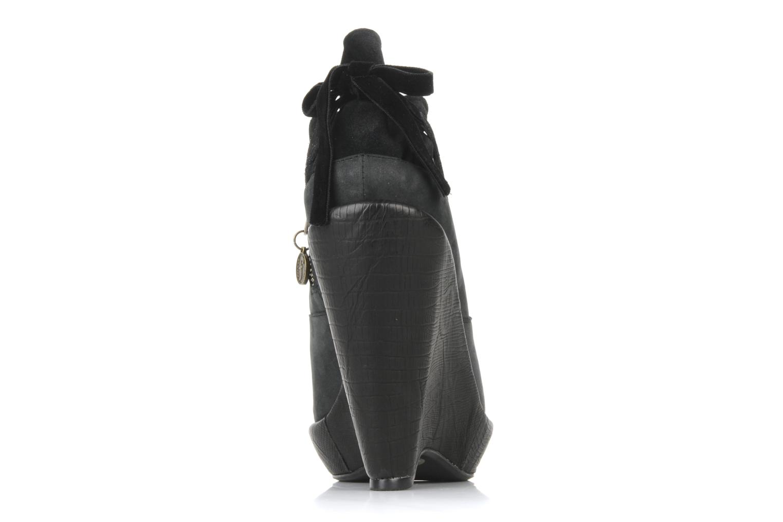 Stiefeletten & Boots Feud Brit schwarz ansicht von rechts