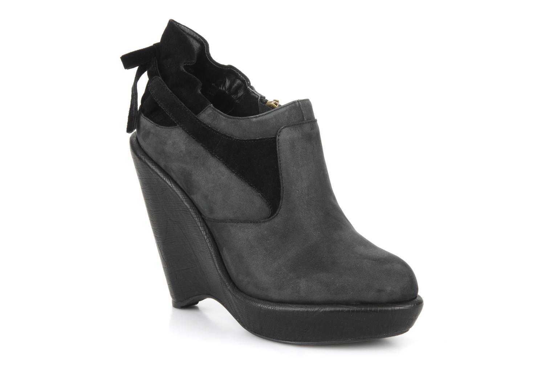 Boots en enkellaarsjes Feud Brit Zwart detail