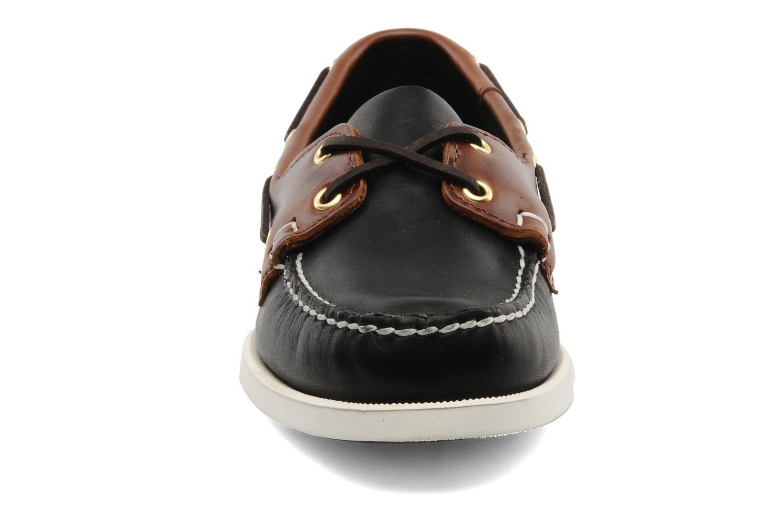 Chaussures à lacets Sebago Spinnaker M Noir vue portées chaussures