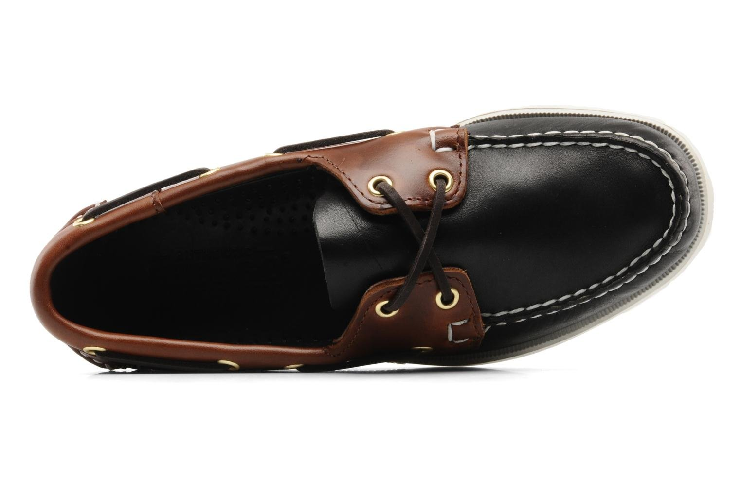Spinnaker M Black brown leather