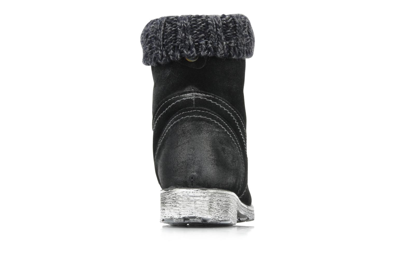 Boots en enkellaarsjes Cafè Noir Aroa Zwart rechts