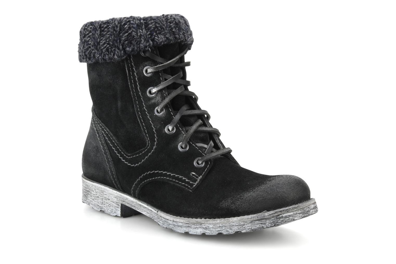 Boots en enkellaarsjes Cafè Noir Aroa Zwart detail