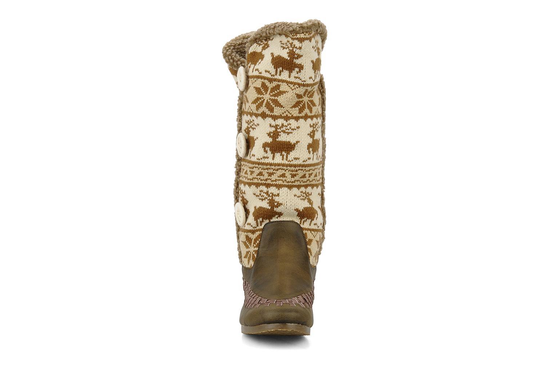 Bottes Chocolate Schubar Fafia Marron vue portées chaussures