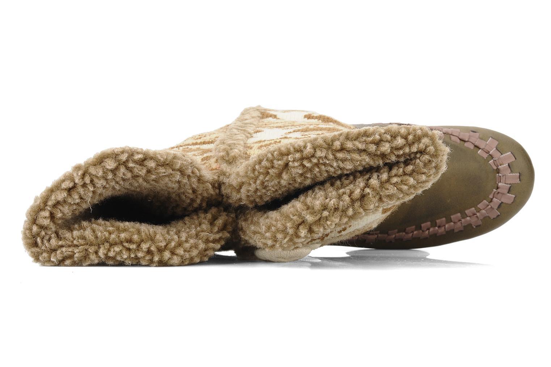 Stiefel Chocolate Schubar Fafia braun ansicht von links
