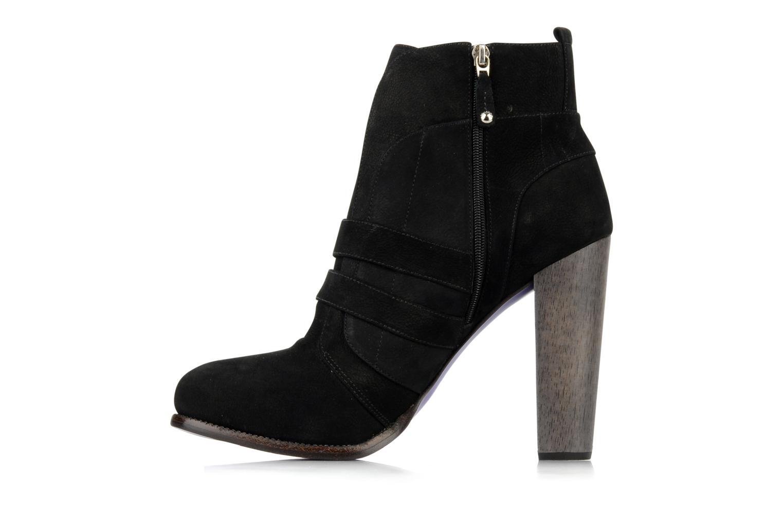 Bottines et boots Miezko Minko Noir vue face