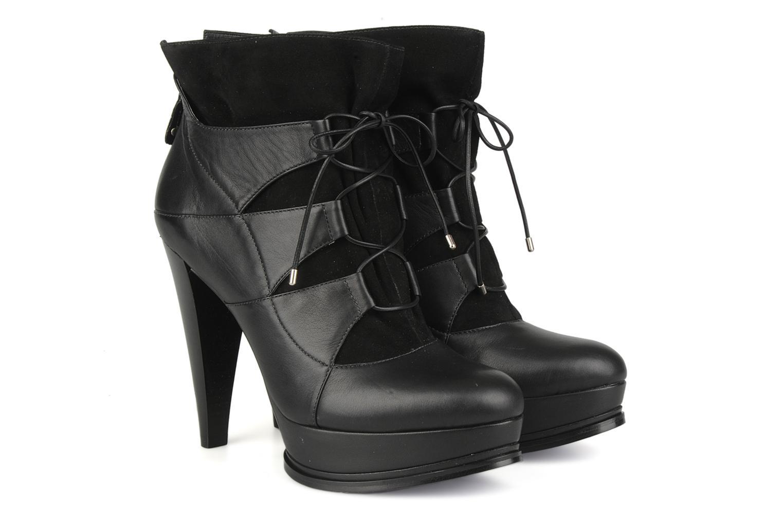 Bottines et boots Miezko Manueva Noir vue 3/4