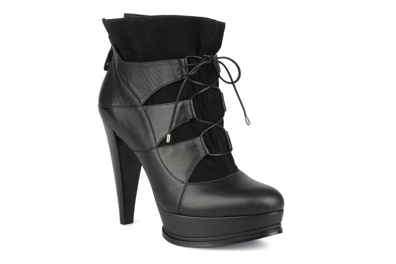 Boots en enkellaarsjes Miezko Manueva Zwart detail