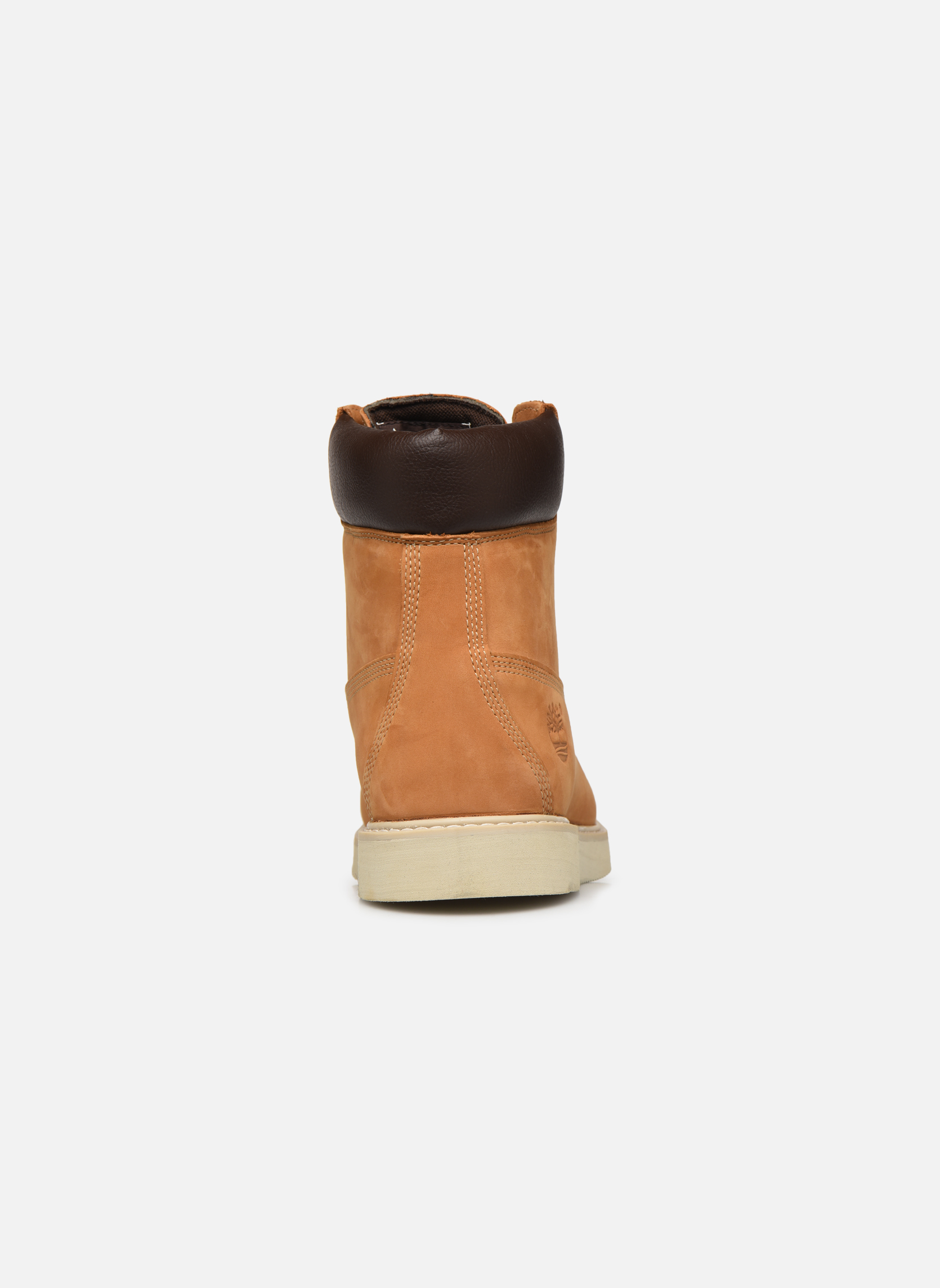 Bottines et boots Timberland 6 in wedge Marron vue droite