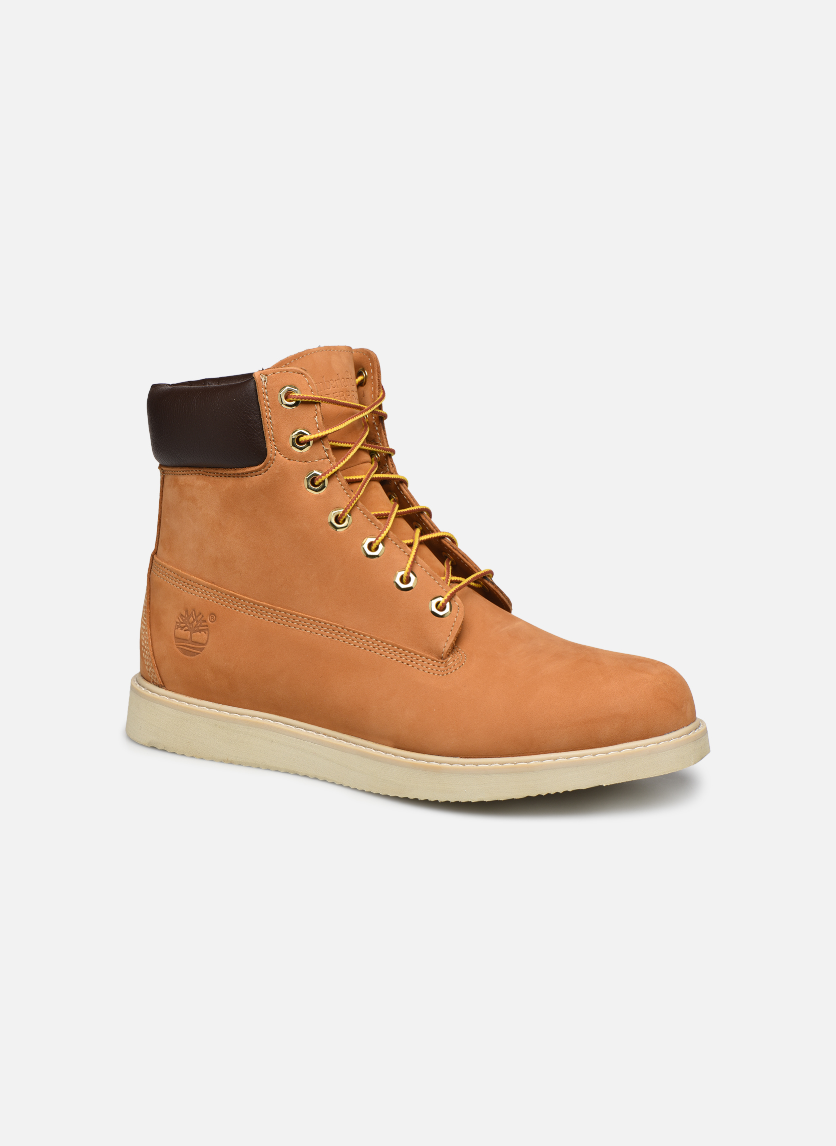 Stiefeletten & Boots Timberland 6 in wedge braun detaillierte ansicht/modell