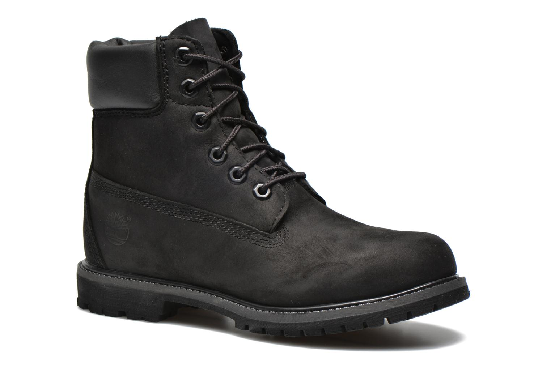 6 in premium boot w Black Nubuck