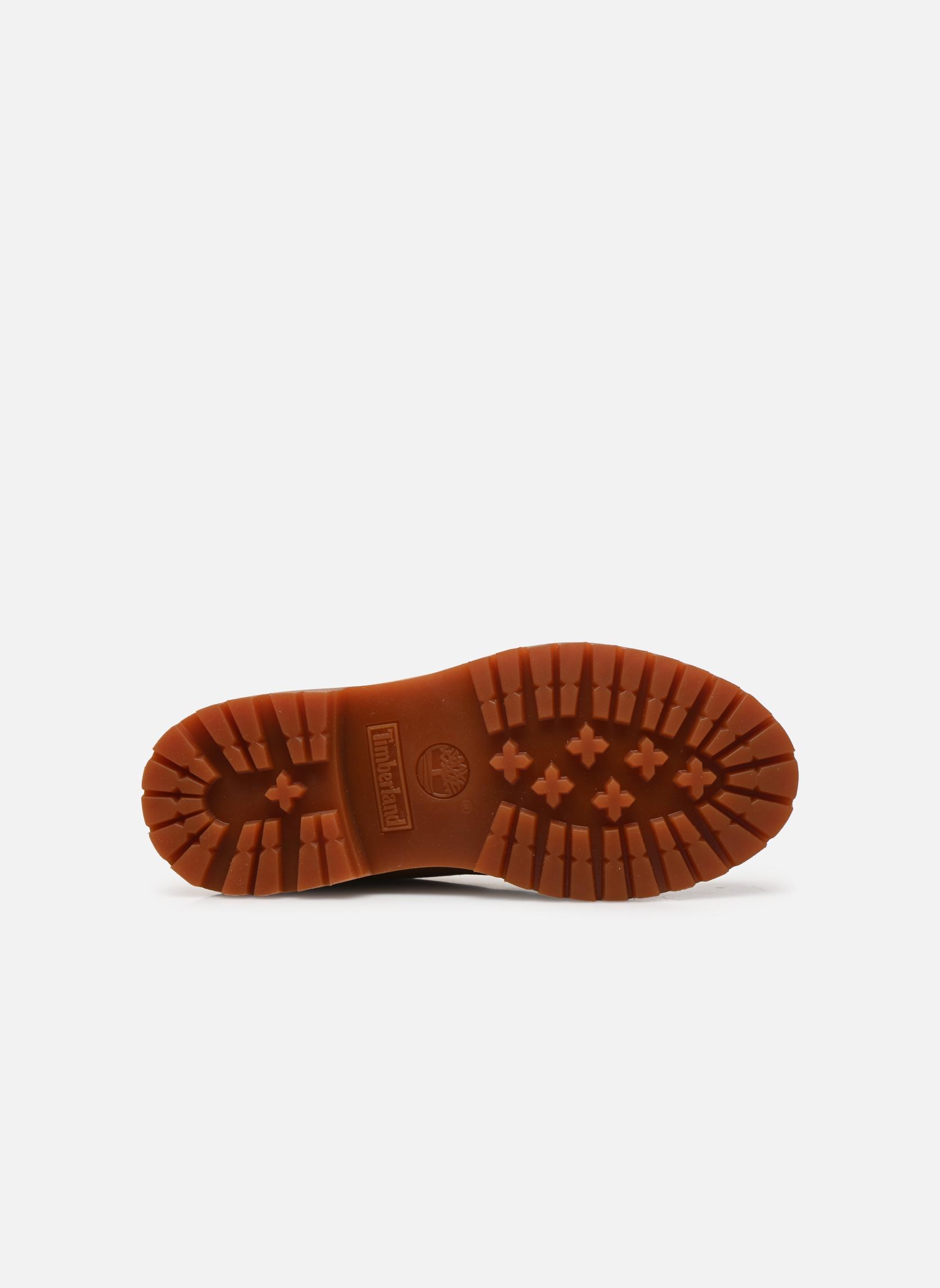 Bottines et boots Timberland 6 in premium boot w Jaune vue haut