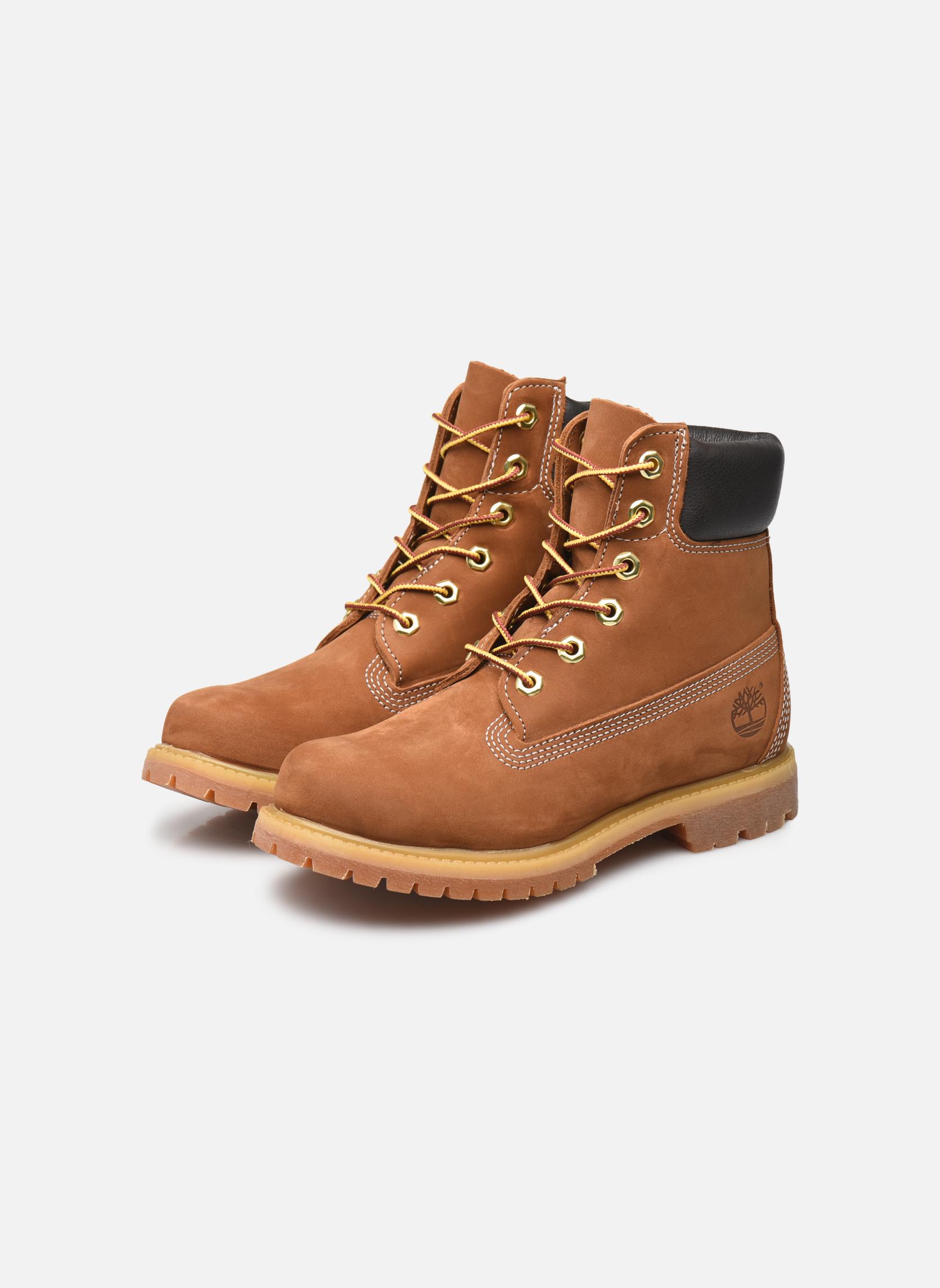 Bottines et boots Timberland 6 in premium boot w Beige vue bas / vue portée sac