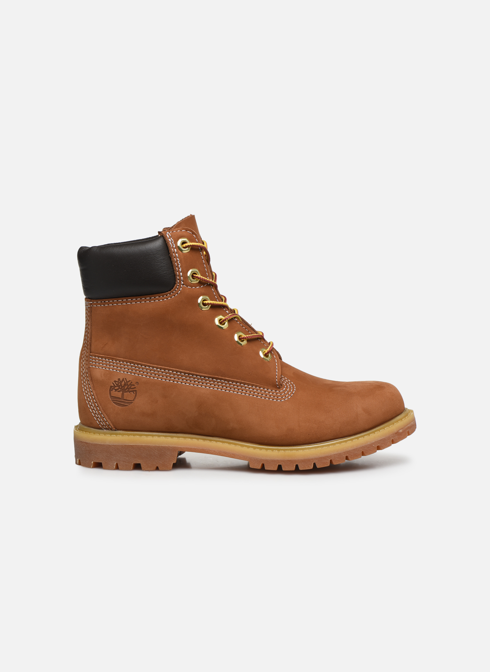 Bottines et boots Timberland 6 in premium boot w Beige vue derrière