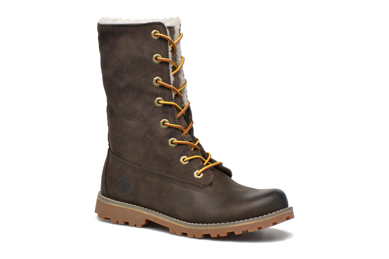Ankle boots Timberland 6 In Waterproof Shearling Boot Green 3/4 view