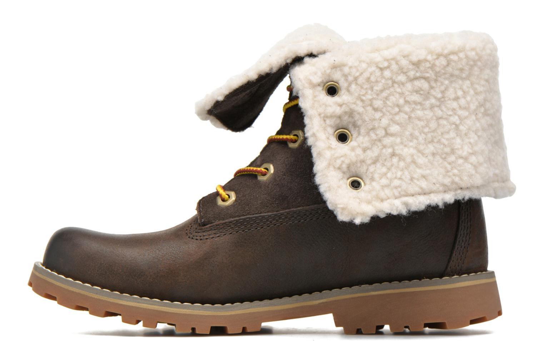 Bottines et boots Timberland 6 In Waterproof Shearling Boot Vert vue face