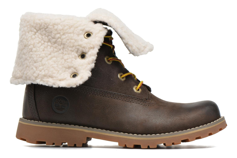 Bottines et boots Timberland 6 In Waterproof Shearling Boot Vert vue derrière