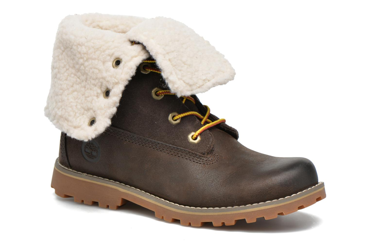 Bottines et boots Timberland 6 In Waterproof Shearling Boot Vert vue détail/paire