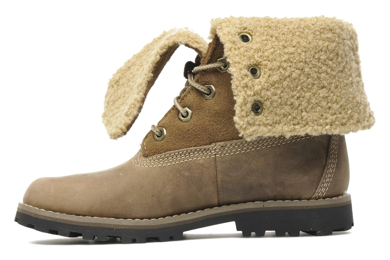 6 In Waterproof Shearling Boot Slate nubuck