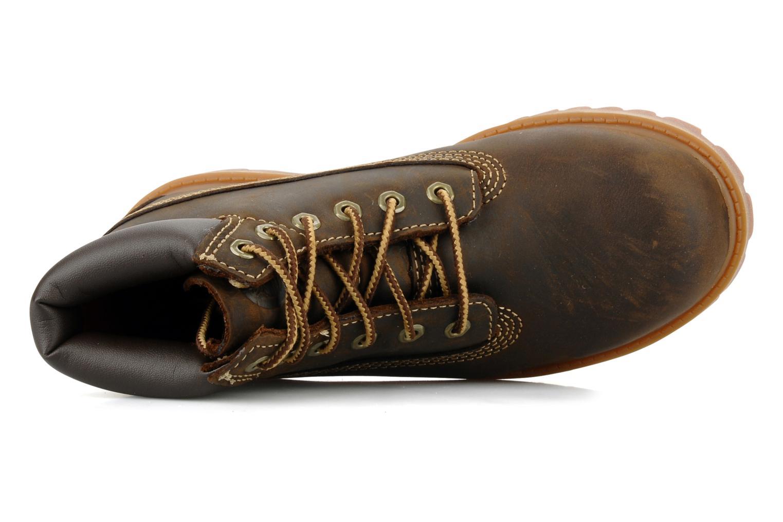 Stiefeletten & Boots Timberland 6 In Waterproof Boot braun ansicht von links