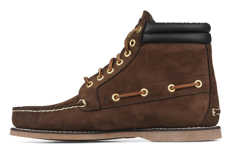 Boots en enkellaarsjes Timberland 7 eye chukka Bruin voorkant