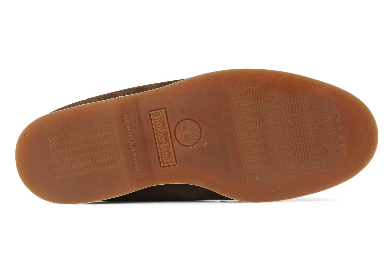 Bottines et boots Timberland 7 eye chukka Marron vue haut
