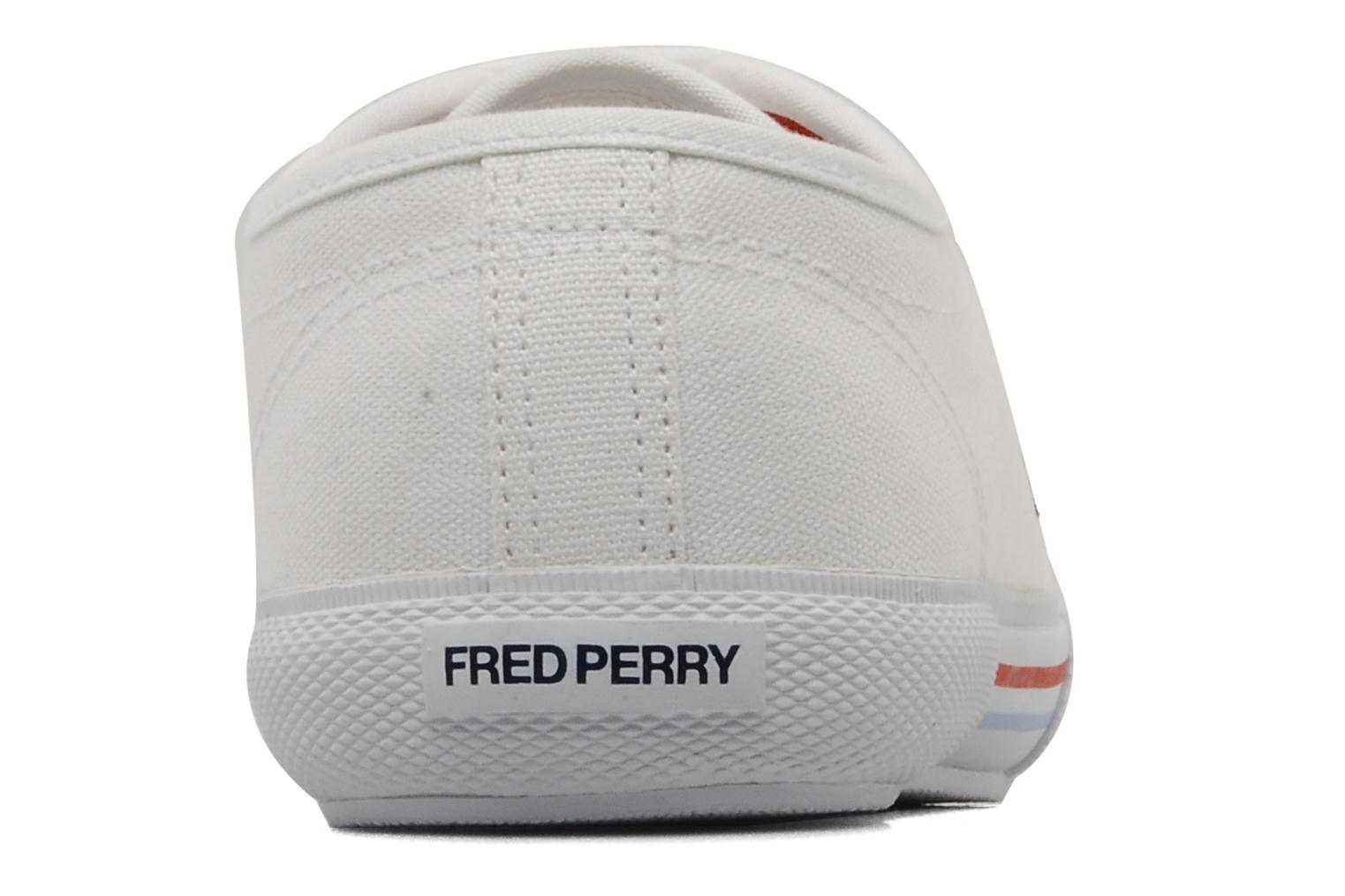 Baskets Fred Perry Vintage b708 Blanc vue droite