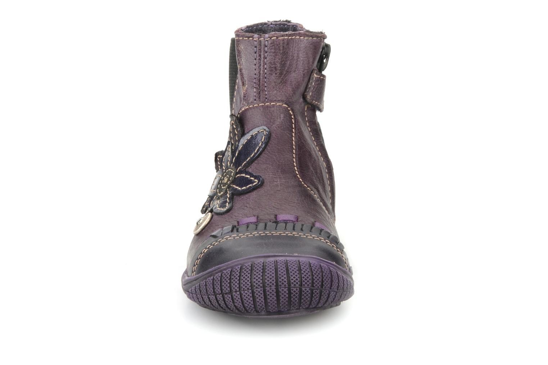 Stiefeletten & Boots Catimini Cati a24 lila schuhe getragen