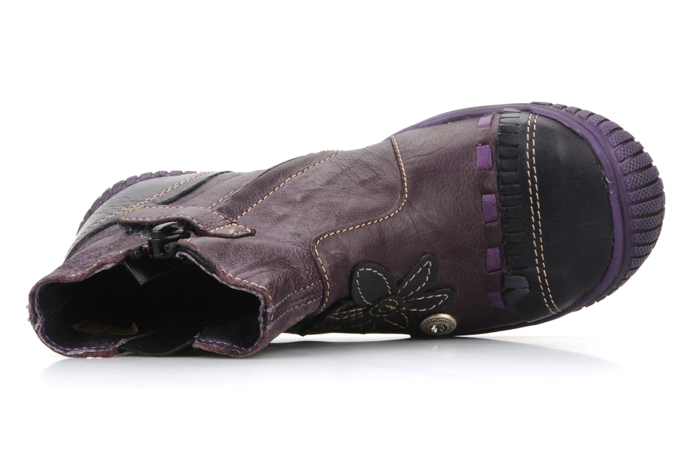 Bottines et boots Catimini Cati a24 Violet vue gauche